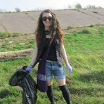 Beach cleaning in Sefton