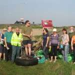 Get involved with a beach clean