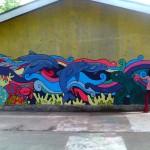 Bulak mural for school.