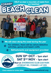 Beach clean Formby - low res